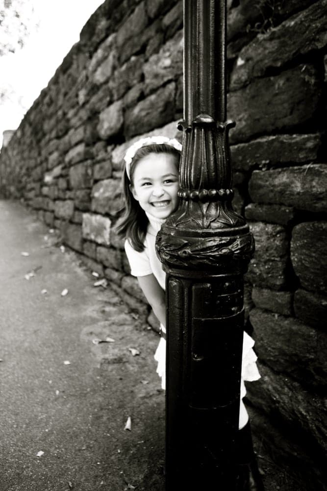 photographing five year olds