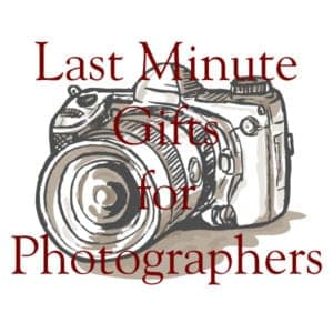 last minute gifts for photographers