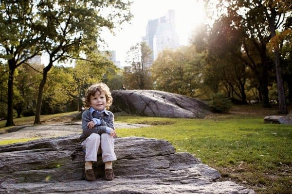 kid's portrait photography tips for fall