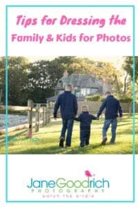 Dressing the family and kids for photography