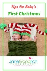 Tips for photographing Baby's First Christmas