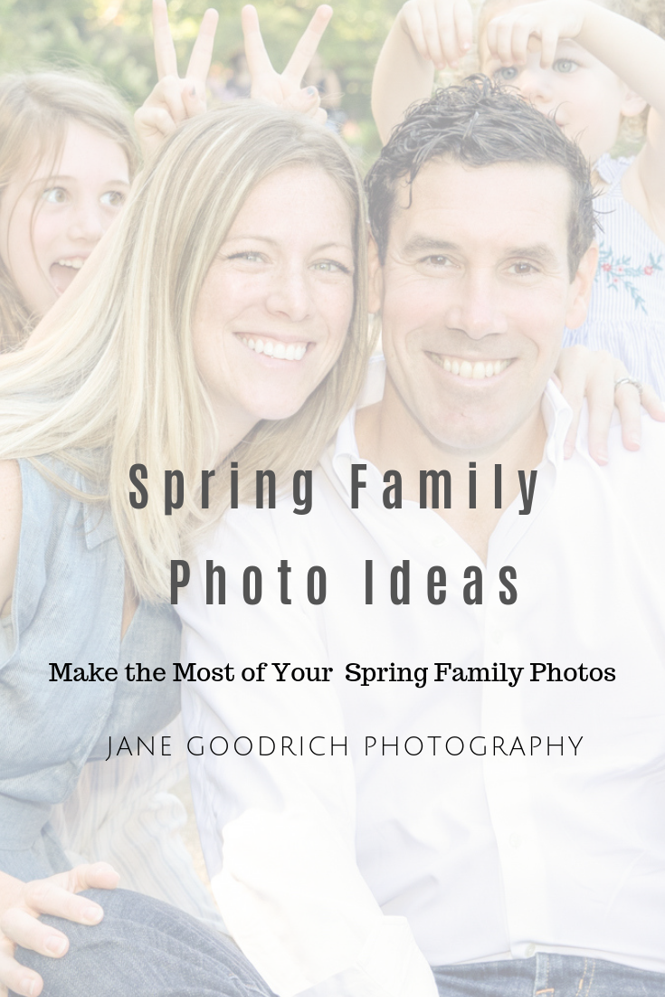 Pinterest image spring family photo ideas