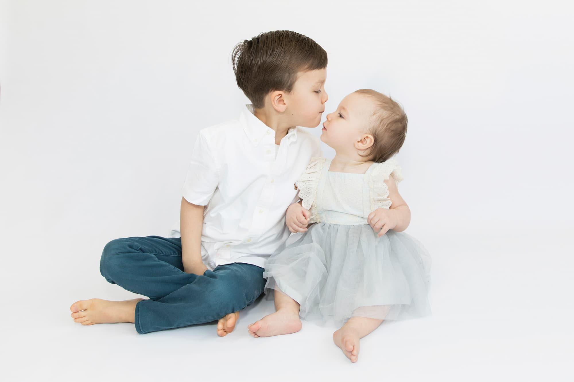 Sibling love captured by Jane Goodrich Larchmont, NY