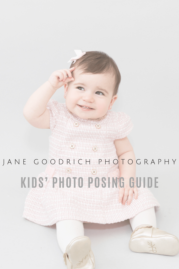 Pinterest image for Kid's photo posing tips by newborn photographer jane Goodrich Larchmont, NY