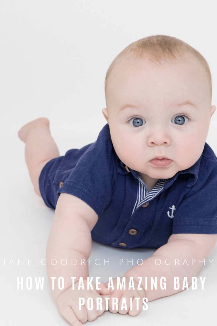pinterest image how to take amazing baby portraits by Jane Goodrich Larchmont, NY family photographer