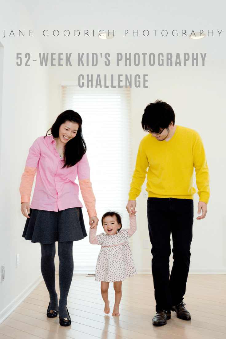 pinterest 52-week kid's photography challlenge newborn photographer Jane Goodrich