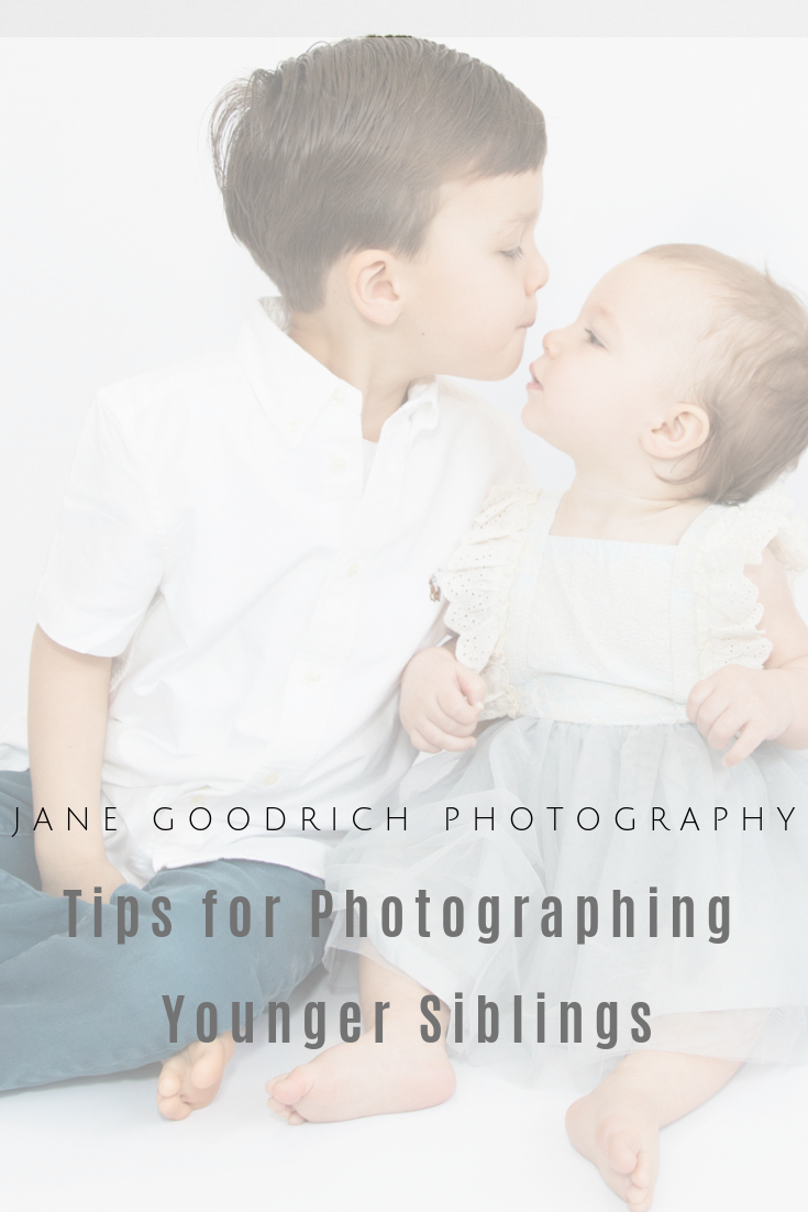 Tips for photographing younger siblings with Larchmont, NY Family Photographer Jane Goodrich