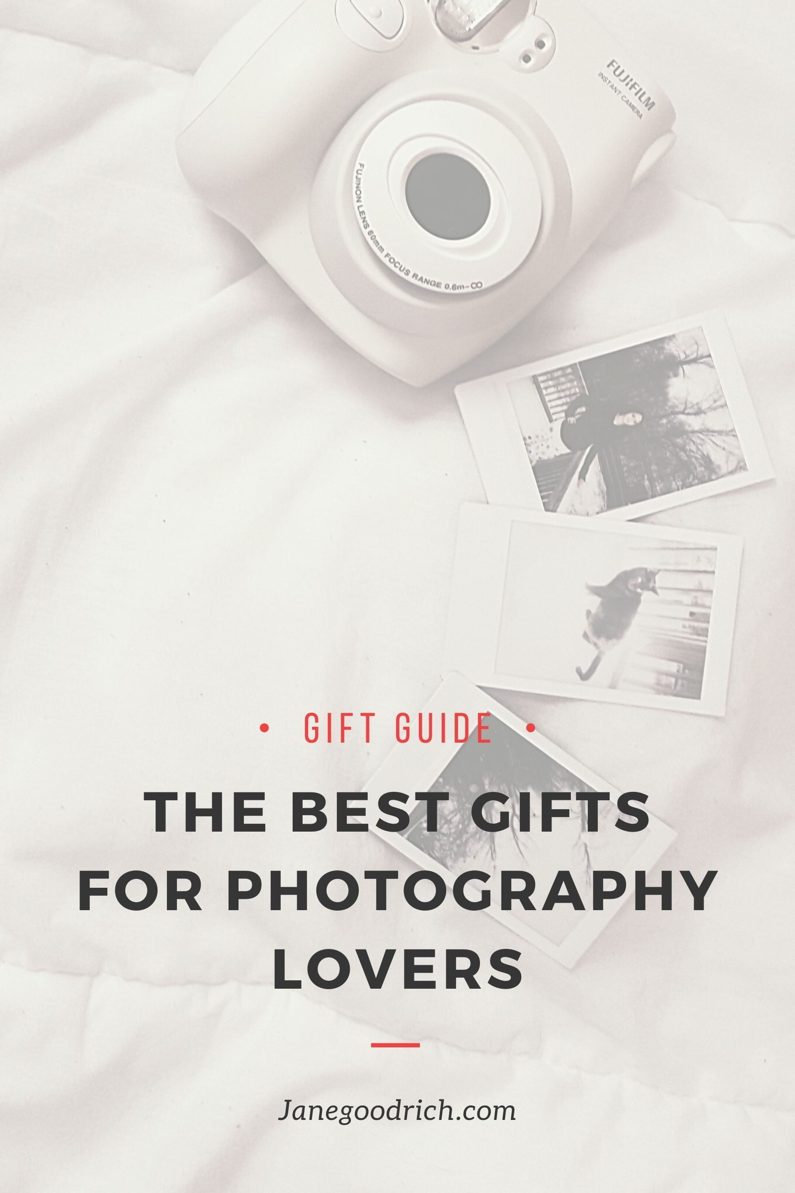 best gifts for photography lovers image of instant camera
